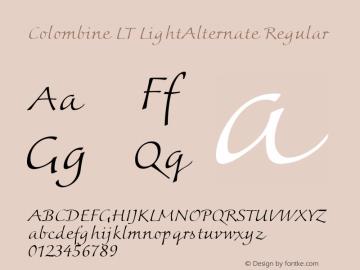 Colombine LT LightAlternate