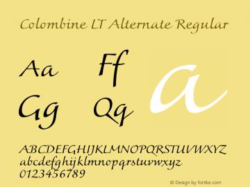 Colombine LT Alternate