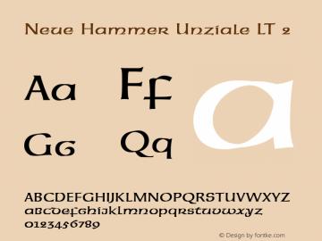 Neue Hammer Unziale LT