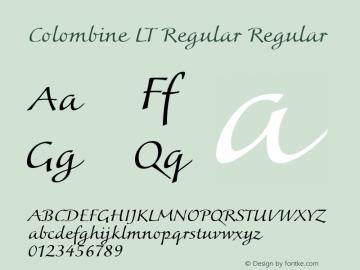 Colombine LT Regular