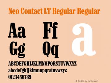Neo Contact LT Regular