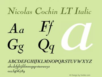 Nicolas Cochin LT