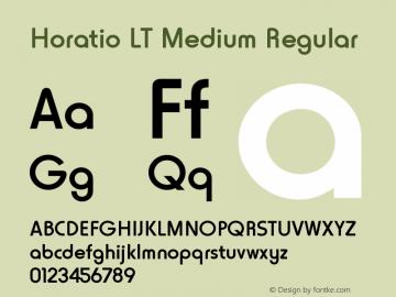 Horatio LT Medium