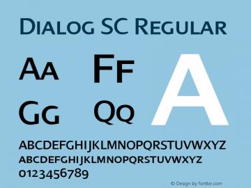 Dialog SC