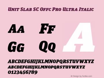 Unit Slab SC Offc Pro