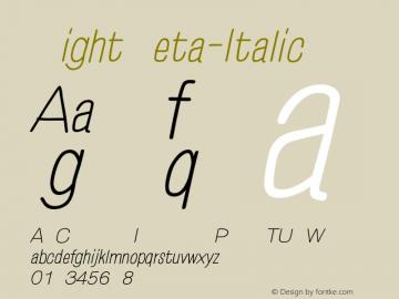 EightZeta-Italic