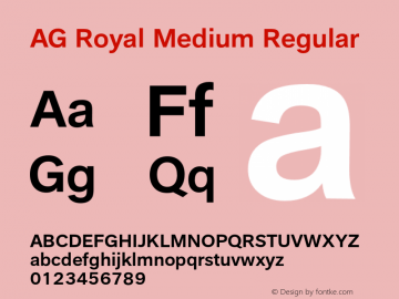 AG Royal Medium