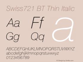 Swiss721 BT