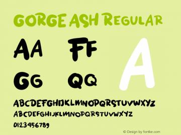 GORGE ASH