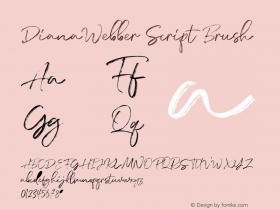 DianaWebber Script