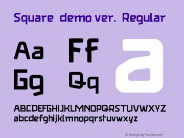 Square (demo ver.)