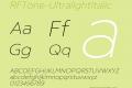 RFTone-UltralightItalic