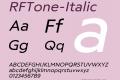 RFTone-Italic
