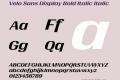 Velo Sans Display Bold Italic
