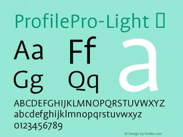 ProfilePro-Light