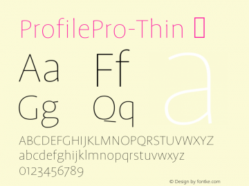 ProfilePro-Thin