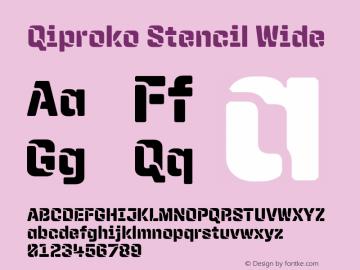 Qiproko Stencil