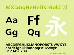 MXiangHeHeiTC-Bold