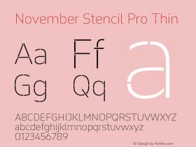November Stencil Pro