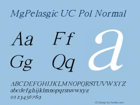 MgPelasgic UC Pol
