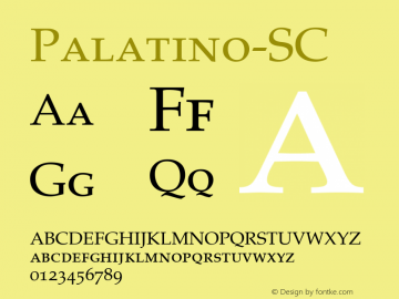 Palatino-SC