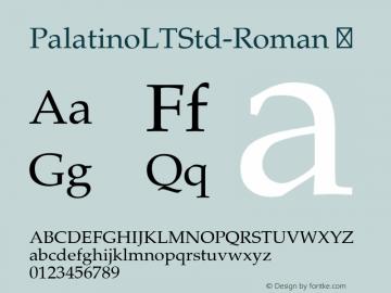 PalatinoLTStd-Roman