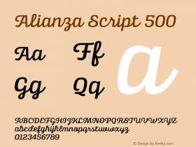 Alianza Script
