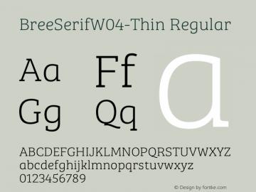 BreeSerifW04-Thin