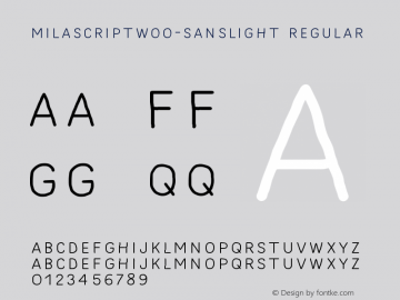 MilaScriptW00-SansLight
