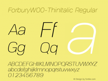 ForburyW00-ThinItalic