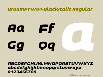 BruumFYW04-BlackItalic