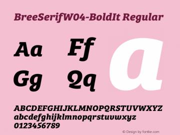 BreeSerifW04-BoldIt