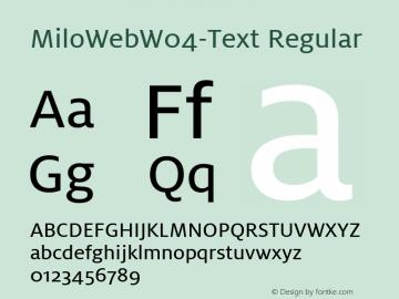MiloWebW04-Text