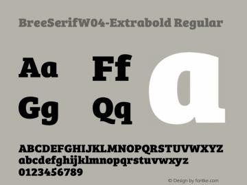 BreeSerifW04-Extrabold