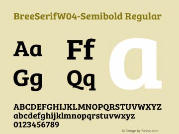BreeSerifW04-Semibold