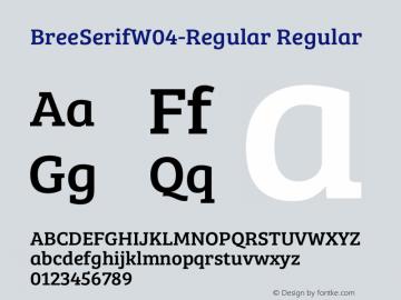 BreeSerifW04-Regular