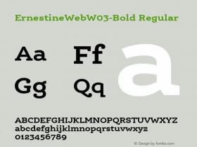 ErnestineWebW03-Bold