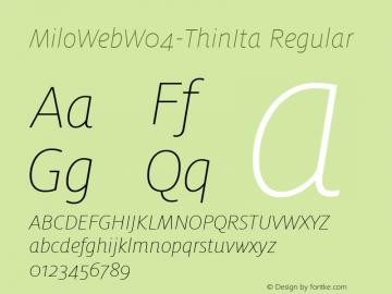 MiloWebW04-ThinIta