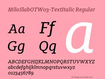 MiloSlabOTW03-TextItalic