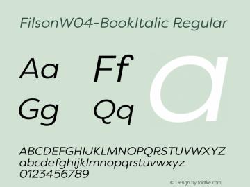FilsonW04-BookItalic