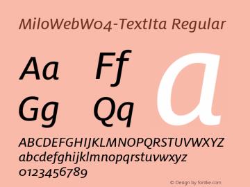 MiloWebW04-TextIta