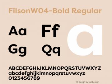 FilsonW04-Bold