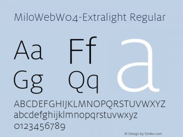 MiloWebW04-Extralight