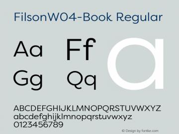 FilsonW04-Book