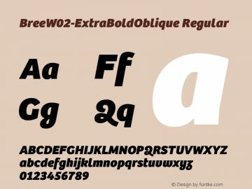 BreeW02-ExtraBoldOblique