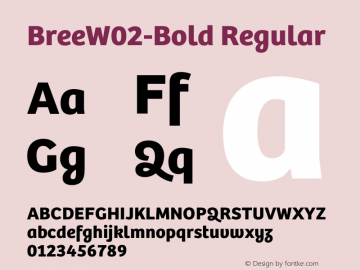 BreeW02-Bold