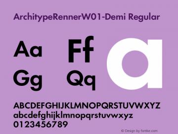ArchitypeRennerW01-Demi