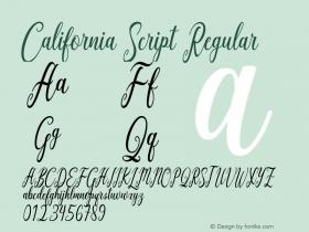 California Script