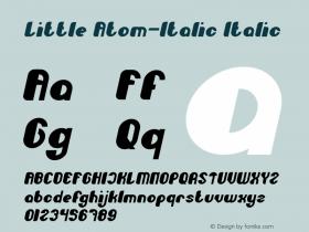 Little Atom-Italic