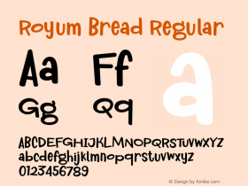 Royum Bread